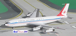 Korean Airlines B720 HL7402 (1:200), Western Models Item Number AC2KAL0216