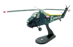Sikorsky UH-34D Choctaw, French Naval Aviation, 1964 (1:72), Amercom Diecast Item Number ACHY07