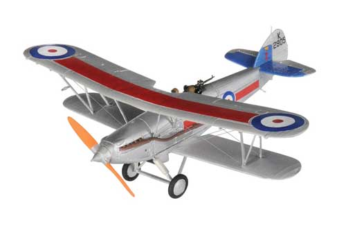 Hawker Demon Fighter K2905 41 Sqn RAF Northholt (1:72) New Tooling!, Corgi Diecast Aviation Item Number AA39602