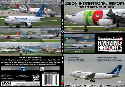 Lisbon International Airport, Air Utopia Aviation DVDs Item Number AUT59