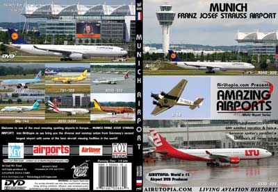 Munich Franz Josef Strauss Airport (DVD), Air Utopia Aviation DVDs Item Number AUT65