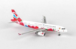 "Chongquing Airlines Airbus A320 ""Happy Chongqing"" B-6576 ((1:400)), Phoenix (1:400) Scale Diecast Aircraft, Item Number PH4CQN1448"
