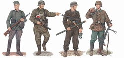 """March to the West"", Western Front 1940 (4 Figure Set) (1:35), Dragon Model Kits Item Number DRA6703"