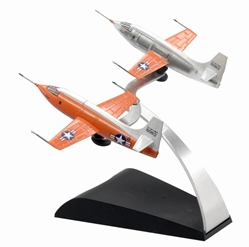 "Bell X-1 ""Sonic Breaker"" Last Flight (Contains 2 replicas) (1:144), DragonWings 1:144 scale Diecast Warbirds Item Number DRW51025"