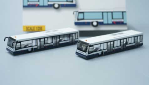 Airport Bus Set, British Airways Landor, 2 (1:200)