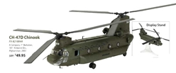 CH-47D Chinook Die Cast Model A Company, 7th Battalion, 101st Airborne Div., Afghanistan, 2003 (1:72), Forces of Valor Item Number FV-821004A