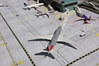 2-Piece Airport Mat Set (1:400 side 1, 1:200 side 2 - New, Improved Design - GJAPS006V2
