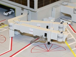 Airbridge Set 2, 3 Double Widebody Bridges (1:400), GeminiJets 400 Diecast Airliners Item Number GJARBRDG2