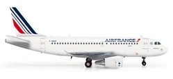 Air France A319 (1:200), Herpa 1:200 Scale Diecast Airliners Item Number HE555371