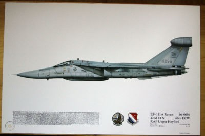 EF-111A Raven  42nd ECS, 66th ECW, Upper Heyford, England 1987 (1:72)