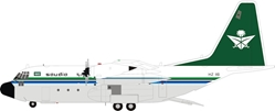 Saudi Arabian Royal Flight Lockheed C-130H Hercules (L-382) HZ-116 (1:200), InFlight 200 Scale Diecast Airliners Item Number B-130-SV-01