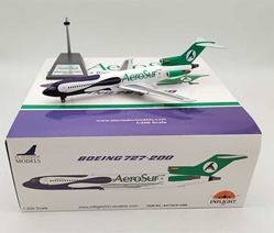 AeroSur Boeing 727-200 CP-2498 With Stand (1:200)