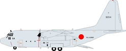 Japanese Navy Lockheed C-130R Hercules (L-382) 9054 (1:200) - Preorder item, Order now for future delivery , InFlight 200 Scale Diecast Airliners Item Number IF1300517