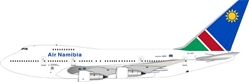 Air Namibia Boeing 747SP-44 ZS-SPC (1:200), InFlight 200 Scale Diecast Airliners Item Number IF747SP0814
