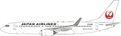 Japan Airlines, JAL 737-846 JA349J (1:200)