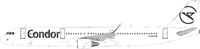 Condor Airbus A321-211 D-ATCF With Stand (1:200)