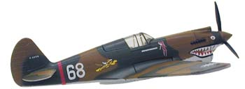Curtiss P-40 Hells Angels (1:90), Model Power Diecast Planes Item Number MP5354-1