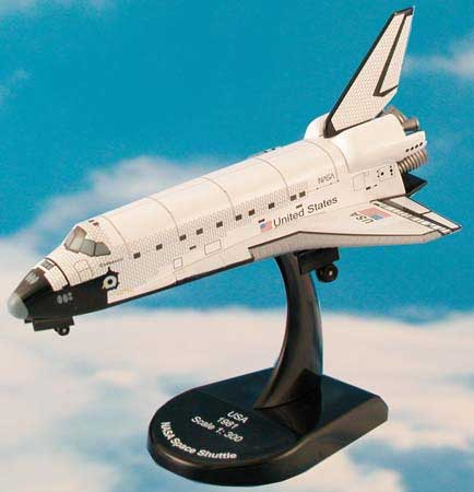 NASA Space Shuttle Endeavour (1:300), Model Power Diecast Planes Item Number MP5823