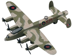 "Avro Lancaster Mk 1B Bomber (Approx. 6""), Motormax Diecast Item Number DC6-LANC"