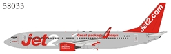 "Jet2 737-800/w G-JZHG ""Great Package Holidays"" titles (1:400)"