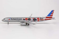 American Airlines A321-200 N162AA Stand Up To Cancer livery (1:400)