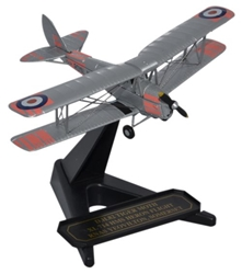 de Havilland DH.82A Tiger Moth XL-714, HMS Heron Flight, British Royal Navy (1:72), Oxford Diecast 1:72 Scale Models Item Number 72TM008