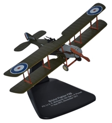 Bristol F.2B No. 11 Squadron, Royal Flying Corps, 1917 (1:72), Oxford Diecast 1:72 Scale Models Item Number AD005
