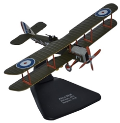 Airco (de Havilland) DH.4, No. 202 Squadron, Royal Flying Corps, 1918 (1:72), Oxford Diecast 1:72 Scale Models Item Number AD006