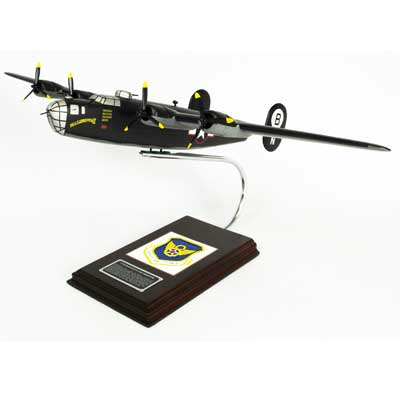 B-24D Liberator (Olive) (1:58), TMC Pacific Desktop Airplane Models Item Number AB24DTS