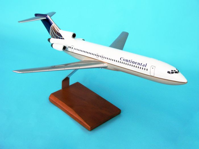 B727-200 Continental (1:100), TMC Pacific Desktop Airplane Models, KB727CATR
