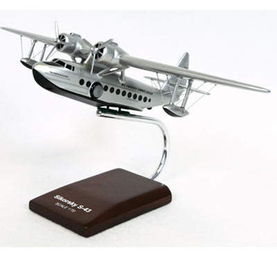 S-43 Pan American (1:72), TMC Pacific Desktop Airplane Models Item Number KS43PAT