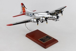 "B-17G USAAF ""Aluminum Overcast"" (1:54) by Executive Series Display Models item number: SE0046W"