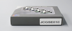 Push Back Tug 4 PACK, 2 China Airlines, 2 EVA (1:400) by JC Wings Diecast Airliners Item: JC4GSE010