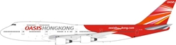 Oasis Hong Kong Airlines B747-481  - GE Engine Version  B-LFD (1:200), JFox Model Airliners Item Number JF-747-4-024