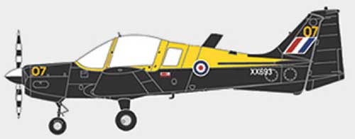 Scottish Aviation Bulldog Series 120/121 XX693, PFA Suffolk Costal Strut, Boxted, 2006 (1:72), Aviation72 Diecast Airlines Item Number AV7225001