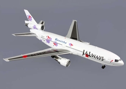 "Japan Airlines ""JALways"" DC-10-40 ""RESOCHA"" ~JA8539 (1:200), Blue Box Airplane Models Item Number BBOXJALW06"