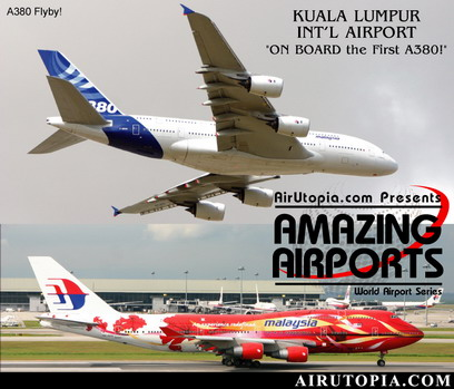 Kuala Lumpur New International Airports (DVD), Air Utopia Aviation DVDs Item Number AUT16