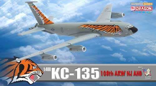 "KC-135 108th ARW NJ ANG ""Tiger Meet"" (1:400), DragonWings 400 Diecast Airliners Item Number DRW56278"