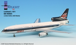 BEA L-1011 (1:200), InFlight 200 Scale Diecast Airliners Item Number IF011001
