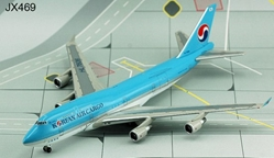 Korean Air Cargo 747-400BCF - HL7606 (1:400), Jet X 1:400 Diecast Airliners Item Number JET469