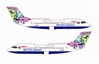 "British Airways Bae-146-300 - G-BXAS ""Animals & Trees"" (1:400), Jet X 1:400 Diecast Airliners Item Number JETBA004"