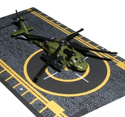 "Black Hawk Helicopter (Approx. 5""), Hot Wings Toy Airplanes Item Number HW14130"