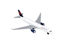 "Delta Airlines Airbus A350 Airliner (5"") by Realtoy Diecast Toys item number: RT4995"