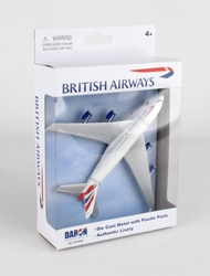 "British Airways A380 Airliner (6"") by Realtoy Diecast Toys item number: RT6008"