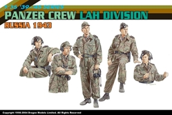Panzer Crew, LAH Panzer Division (1943) , Dragon Model Kits Item Number DRA6214