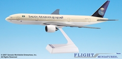 Saudi B777-200 (1:200), Flight Miniatures Snap-Fit Airliners, Item Number BO-77720H-015