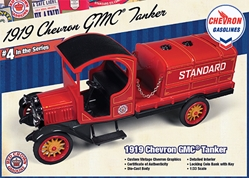 Chevron Truck Series #4  (1:34), Round 2 Model Airplanes Item Number 5911-01