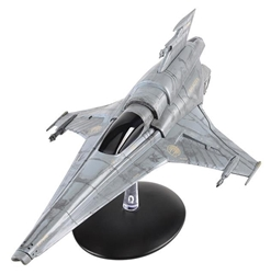 Battlestar Galactica - Viper Mk. VII 2004 Battlestar Galactica: The Offical Starships Collection by Eagle Moss Item Number EMBSG06