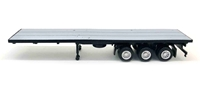 40' 3-Axle Flatbed Trailer (1:87 / HO)