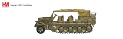 Sd. Kfz.7 8-Ton Half Track (1:72) - Preorder item, order now for future delivery, Hobby Master Diecast Military Armor Item Number HG5004